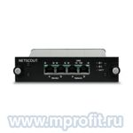 NETSCOUT 340-1050 - медный TAP ответвитель трафика, 1 Line/Link Copper Ethernet 10/100/1000 Module, w/Redundant AC Power & Battery Back-up